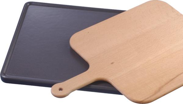 Siemens HZ327000 Keramikbackstein mit Holzschieber